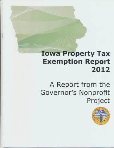 Iowa Property Tax Exemption 2012