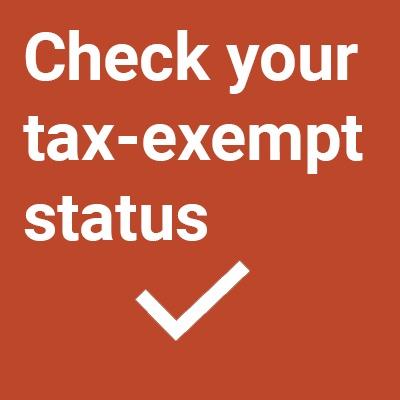 Check Exempt Status