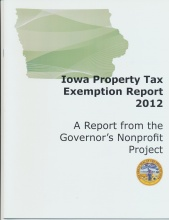 Iowa Property Tax Exemption 2012